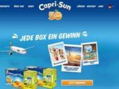 Capri-Sun Gewinnspiel 2019 viele Reisen zu gewinnen