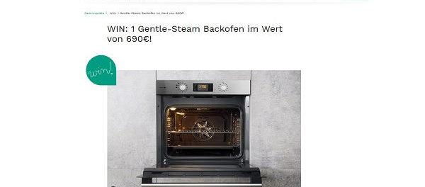 Couchstyle Gewinnspiel Bauknecht Steam-Backofen