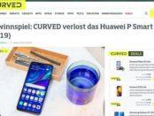 Curved Magazin Gewinnspiel Huawei P Smart Smartphone