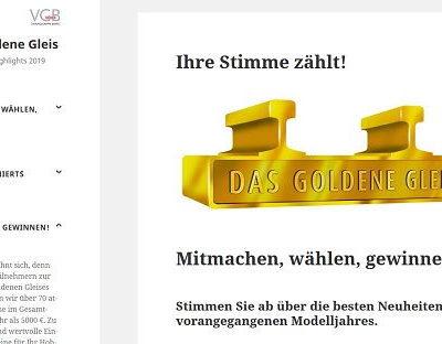 Das goldene Gleis Gewinnspiel Modellbahn Zubehör Gutscheine