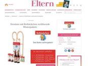 Eltern Gewinnspiel Rotbäckchen Winterpakete mit Schlitten
