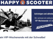 Happy Scooter Gewinnspiel VIP Wochenende Schwalbe E-Roller