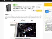 Hardwaredealz Gewinnspiel 2.500 Euro Gamer PC gewinnen