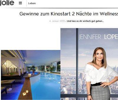 Jolie Gewinnspiele Wellness Hotel Aufenthalt gewinnen