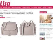 Lisa Gewinnspiele Skip Hop Wickelrucksack