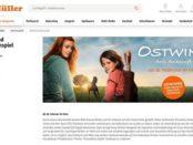 Müller Drogerien Gewinnspiele private Kinovorführung Ostwind