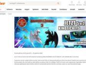 Müller Gewinnspiele Drachen zähmen leicht gemacht Kinostart