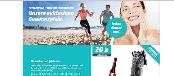 Media Markt Gewinnspiel Bartschneider und Nasenhaartrimmer Set