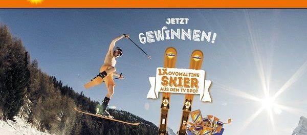 Ovomaltine Gewinnspiel Skier und Produktpakete gewinnen