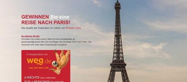 Paris Reise Gewinnspiel Camino Filmverleih