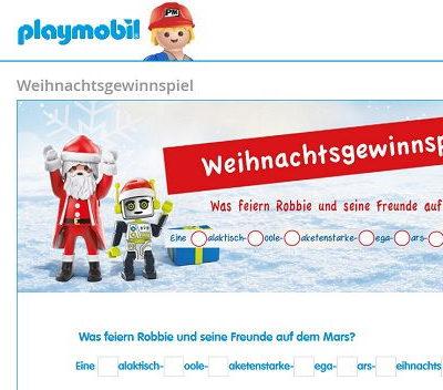Playmobil Gewinnspiel 50 Spielzeug Sets