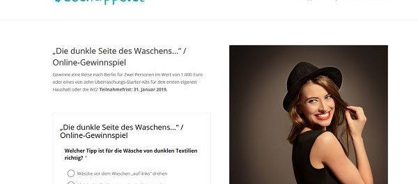 Reise-Gutscheine Gewinnspiel Waschtipps.de 2019