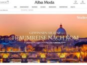 Rom Reise Gewinnspiel Alba Moda Versand