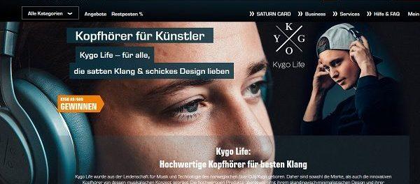Saturn Gewinnspiel Kygo Life Kopfhörer