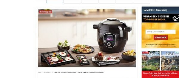 TVDigital Gewinnspiel Krups Cook4Me Multikocher