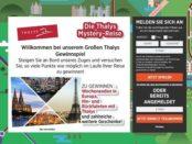 Thalys Mystery Reise Gewinnspiel Europa Wochenendreise
