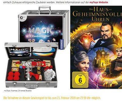 Unicum Gewinnspiele Kosmos Zauberkoffer