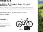 Uproc E-Bike Gewinnspiel Schweizerkäse Le Gruyère AOP