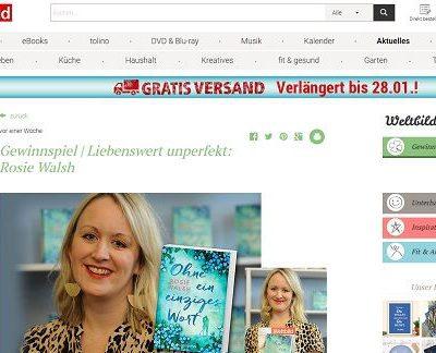Weltbild Verlag Gewinnspiel Rosie Walsh Bücher