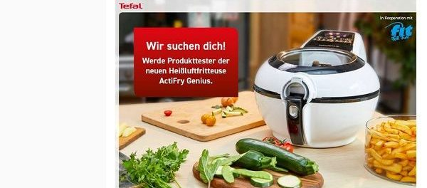 fit for fun Gewinnspiel Philips Heißluftfriteuse ActiFry