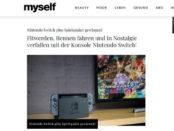 myself Gewinnspiel Nintendo Switch Spielkonsole mit Spielen