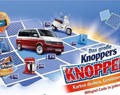 Auto-Gewinnspiel Knoppers VW Multivan Trendline