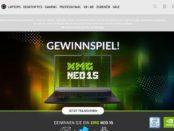 Bestware Gewinnspiel XMG NEO 15 Gaming Laptop