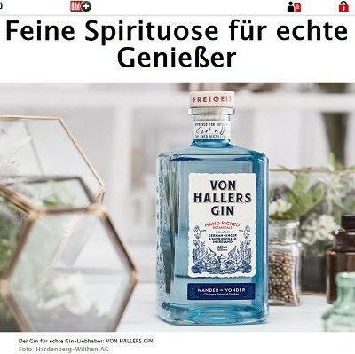 Bild.de Gewinnspiel Gin Cocktail Sets