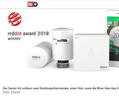 Bild.de Gewinnspiele Eberle Smart Heating-System Wiser