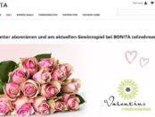 Bonita Valentinstag Gewinnspiel 3 mal 1 Jahres Blumenabos