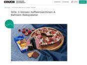 Couch Magazin Gewinnspiel Senseo Kaffeemaschine und Bahlsen Kekspakete