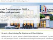 Deutscher Traumhauspreis 2019 Gewinnspiel Flusskreuzfahrt und Sachpreise