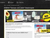 EDEKA Gewinnspiel 2.500 Euro Reisegutschein und Toaster