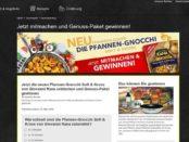 Edeka Gewinnspiele 10 Genuss-Pakete von Giovanni Rana