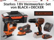 Gewinnspiel Black Decker Akku Werkzeuge Set