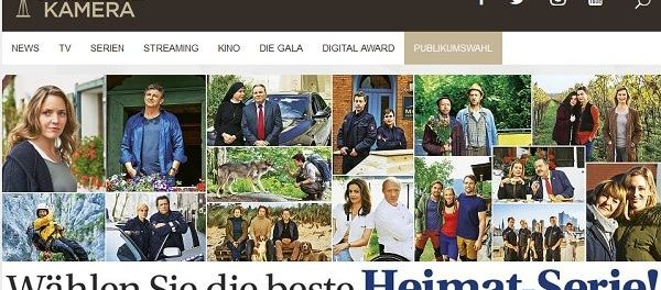 Gewinnspiel - Goldene Kamera Wahl Heimat-Serie