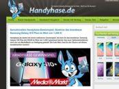 Handhase Gewinnspiel Samsung Galaxy S10+ Smartphone