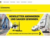 Kärcher Staubsauger Gewinnspiel 2019