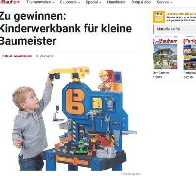 Kinderwerkbank Gewinnspiel Der Bauherr Magazin
