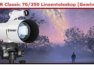 Kino News Gewinnspiel BRESSER Classic Teleskope