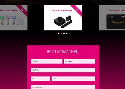 Kostenloeses Gewinnspiel Telekom Sonos Surround Anlagen Amazon Gutscheine