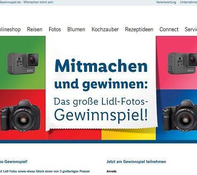 LIDL Gewinspiel Canon EOS 2000D Spiegelreflexkamera