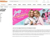Müller Gewinnspiele Lisa und Lena J1MO71 Produkte