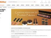 Müller Gewinnspiele Terra Naturi Makeup Pakete