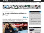 PC Welt Gewinnspiel MSI-Gaming Notebook Wert 2.700 Euro