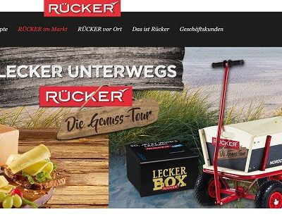 Rücker Molkerei Gewinnspiel 10 Bollerwagen und Käsepakete