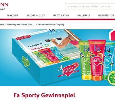 Rossmann Gewinnspiel FA Sporty 200 Boxen