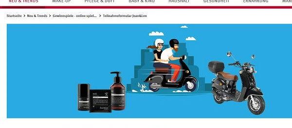 Rossmann Gewinnspiele Retro-Motorroller gewinnen