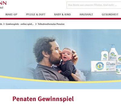 Rossmann und Penaten Gewinnspiel Gutscheine und Produkte