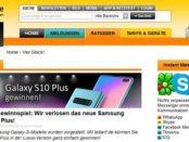 Samsung Galaxy S10+ Smartphone Gewinnspiel teltarif.de